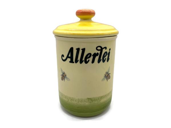 Zeller Keramik Biene Vorratsdose Allerlei 1,00 l