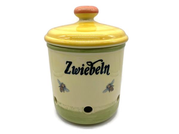 Zeller Keramik Biene Zwiebeltopf 2,00 l