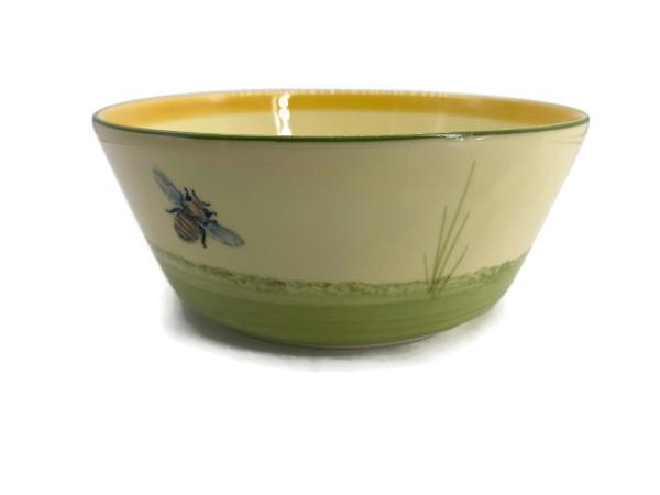 Zeller Keramik Biene Schüssel konisch 17 cm