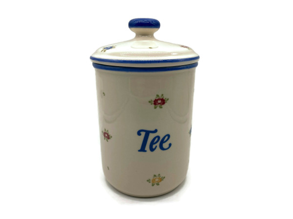 Zeller Keramik Petite Rose Vorratsdose Tee 1,00 l