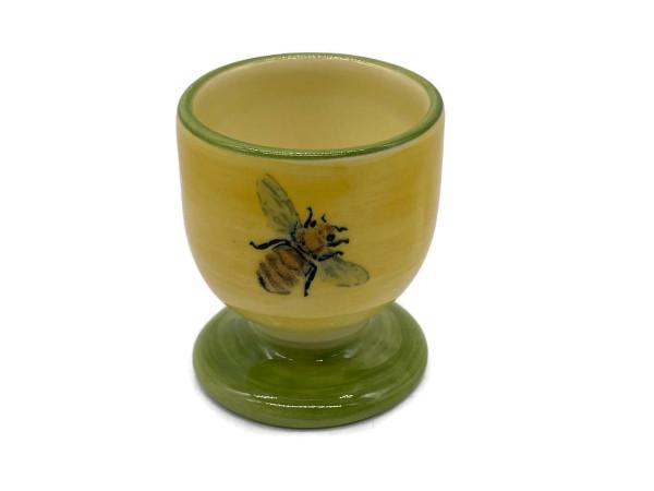 Zeller Keramik Biene Eierbecher 6 cm