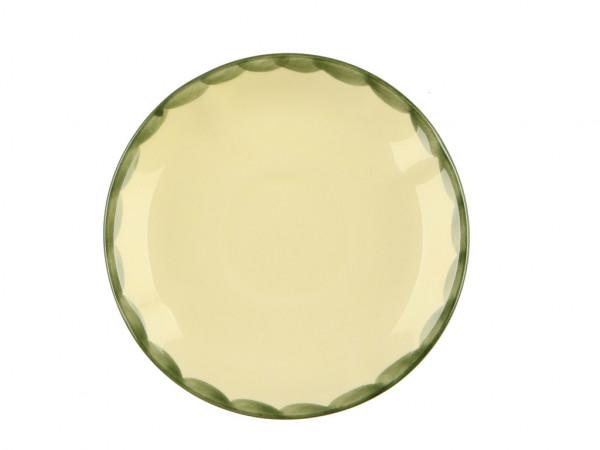 Zeller Keramik Hahn und Henne Espresso Untertasse 12 cm