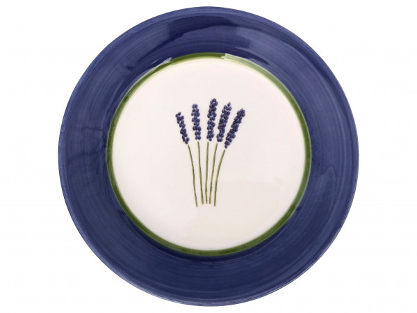 Zeller Keramik Fleur de Provence Teller flach 21 cm
