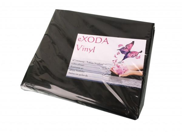 Inkontinenzlaken Unterlaken Matratzenauflage schwarz 160x220 cm Inkontinenzauflage Inkontinenz-Bettlaken auch für Kinder von eXODA