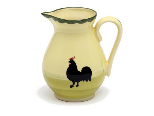 Zeller Keramik Hahn und Henne Krug 0,50 l