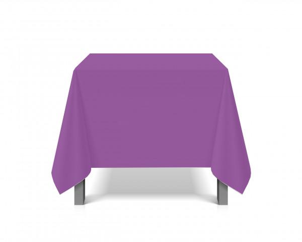 Tischdecke abwaschbar eckig Deko Vinyl lila zuschneidbar Schutzbezug 200x230cm wasserdicht von eXODA