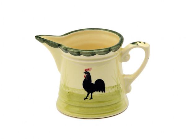 Zeller Keramik Hahn und Henne Rahmgiesser 0,20 l