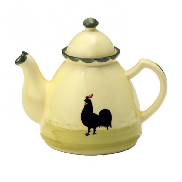 Zeller Keramik Hahn und Henne Teekanne 0,60 l
