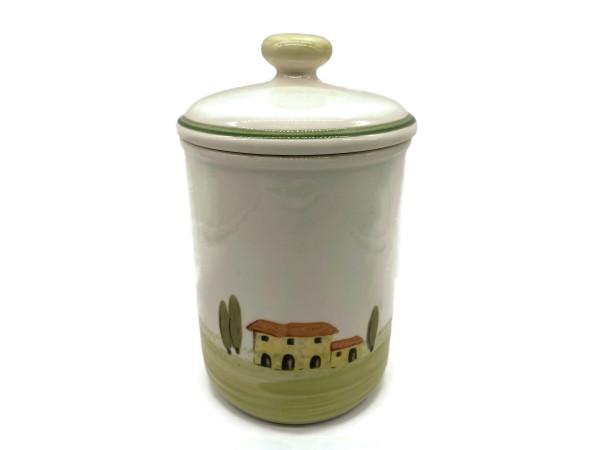 Zeller Keramik Bella Toscana Vorratsdose ohne Schrift 1,00 l