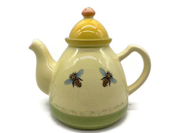Zeller Keramik Biene Teekanne 0,60 l