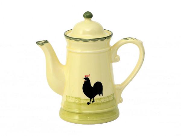 Zeller Keramik Hahn und Henne Kaffeekanne 1,00 l