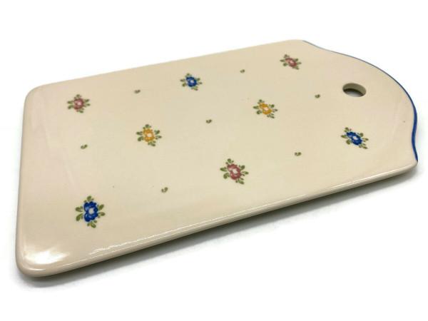 Zeller Keramik Petite Rose Brotplatte 25 x 15 cm